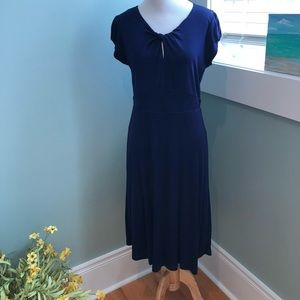 Boden knot detail dress. Excellent condition.